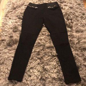 Zara Biker Knee Leggings